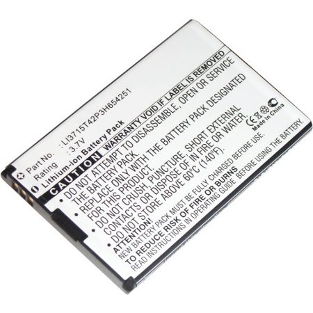 Wireless Router battery for ZTE: LI3715T42P3H654251, A6