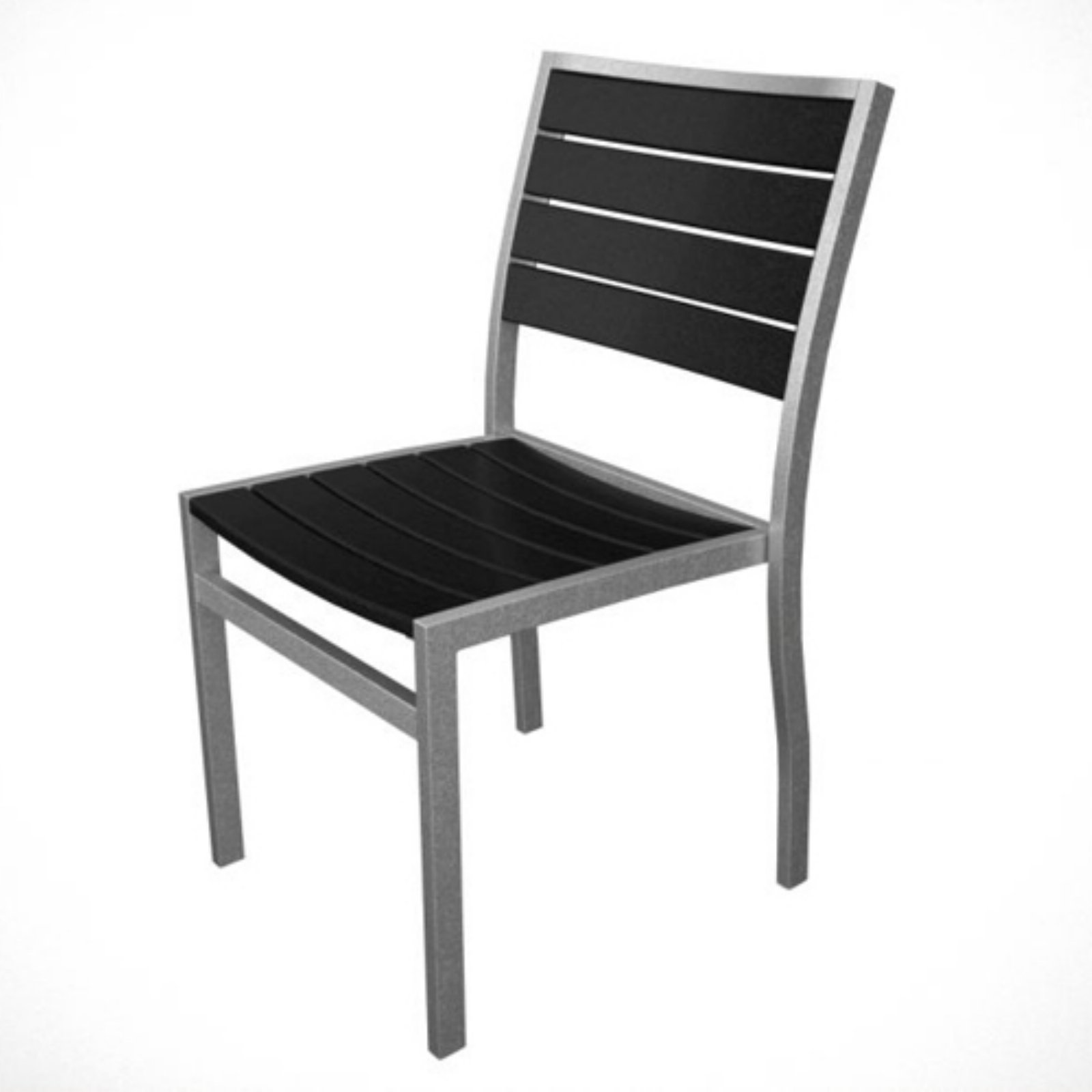 POLYWOOD® Euro Recycled Plastic Side Chair