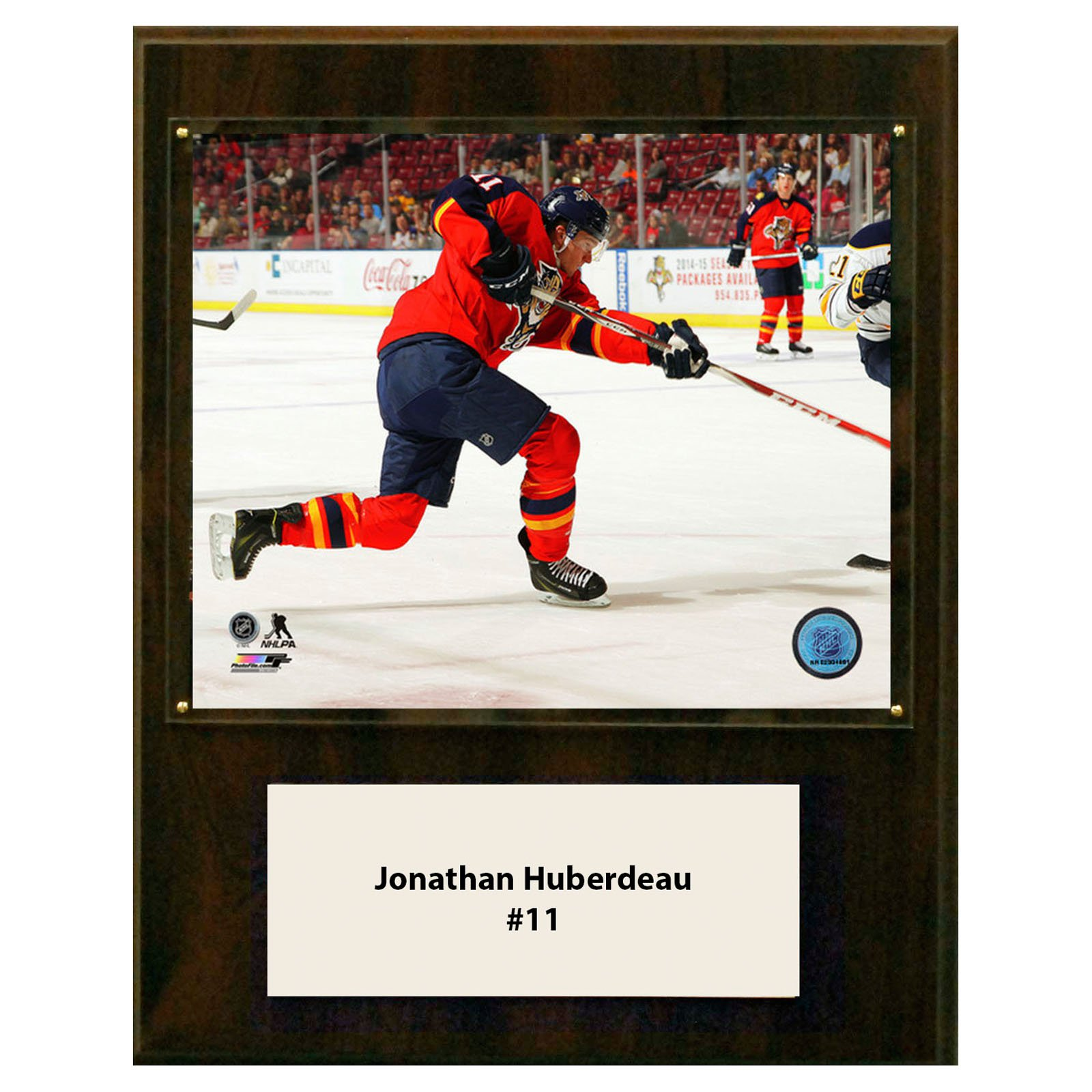 C&I Collectables NHL 12x15 Jonathan Huberdeau Florida Panthers Player Plaque