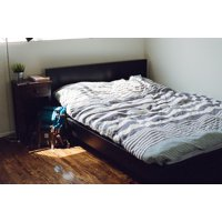 LAMINATED POSTER Sleeping Furniture Bedroom Interior Bed Sleep Poster Print 24 x 36