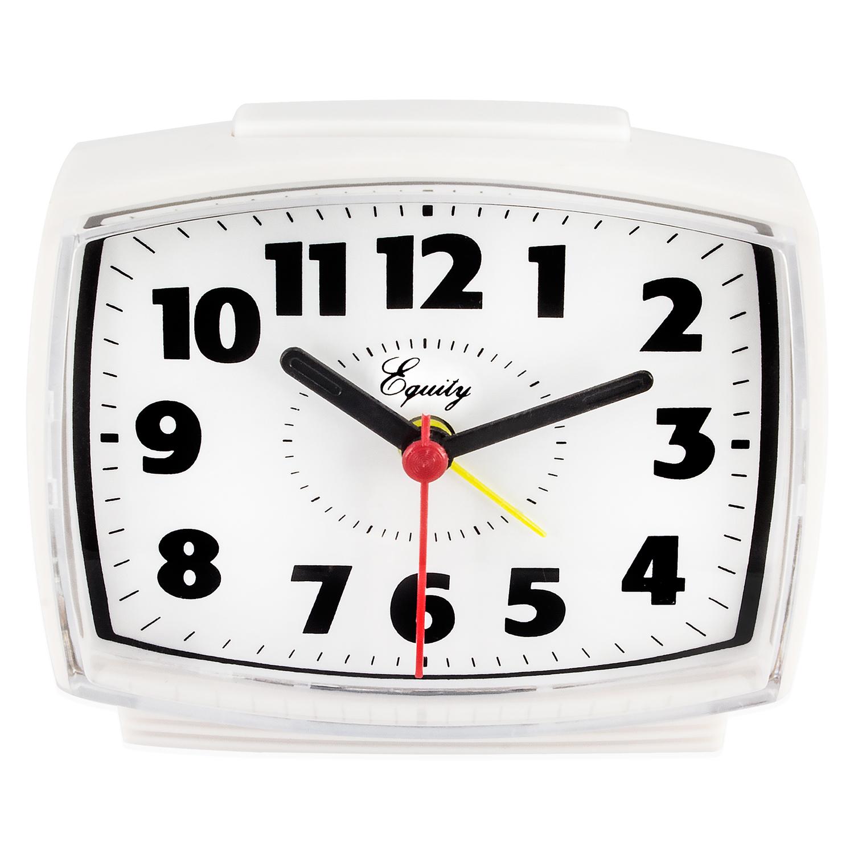 Equity By La Crosse 33100 Electric Analog Alarm Clock by La Crosse Technology Ltd.