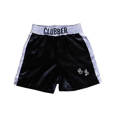 Rocky III Clubber Lang Boxing Trunks Adult - Boxing Costume