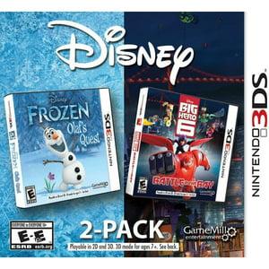 Disney Frozen & Big Hero 6 2PK (Nintendo 3DS)