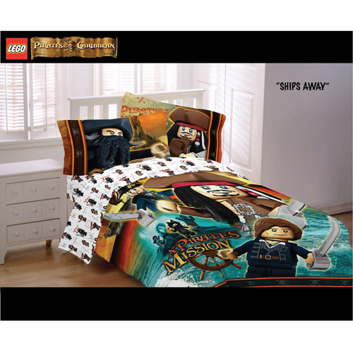 LEGO Pirates of the Caribbean Reversible Comforter