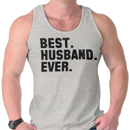 Brisco Brands Best Husband Ever Married Gift Unisex Jersey Tank Top (Best Selling Sports Jerseys)
