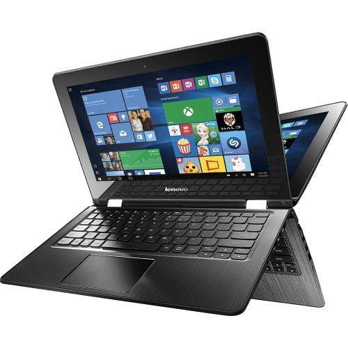 "Lenovo Flex 3 2-IN-1 11.6"" TOUCH-SCREEN Laptop - Intel Celeron - 4GB Memory - 500GB Hard Drive - Black"