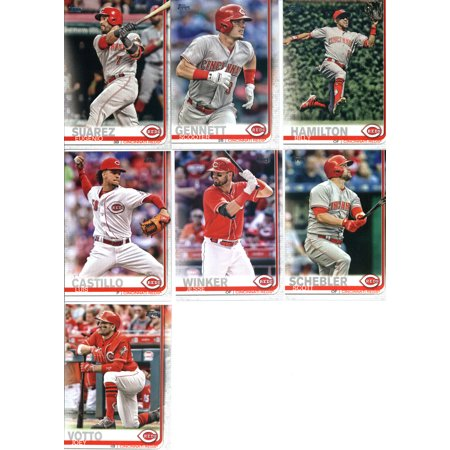 2019 Topps Series 1 Baseball Cincinnati Reds Team Set of 9 Cards