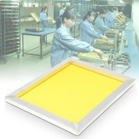 Screen Printing Print Aluminium Frame 40x50cm 16''x20'' With Screen frame 120T Yellow Silk Polyester 300 Mesh