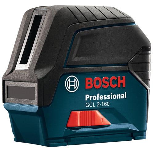 Bosch GCL2-160PLUSLR6 Self-Leveling Cross-Line Laser with...