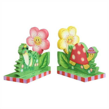Fantasy Fields - Magic Garden Set of Bookends Teamson Design Magic Garden