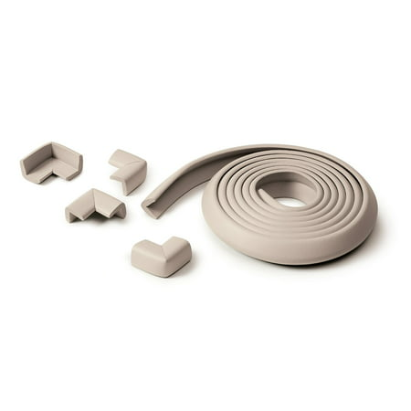 Soft Edge and Corner Guards for Baby Safe Furniture Double Sided Tape Included ()