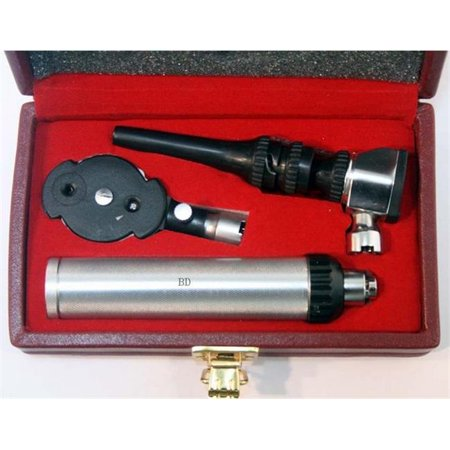 Ophthalmoscope Set Accessories - 10026 Ophthalmoscope Otoscope Dermatoscope Diagnostic Set Good Quality New Gift Box