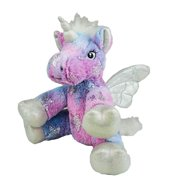 Cuddly Soft 8 inch Stuffed Stardust The Unicorn Friend...We Stuff 'em. You Love 'em!