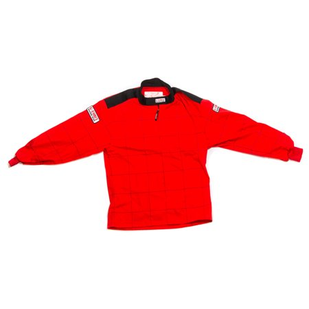 G-Force Red Small Single Layer GF125 Driving Jacket P/N