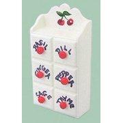 Dollhouse Spice Shelf W/Cherries