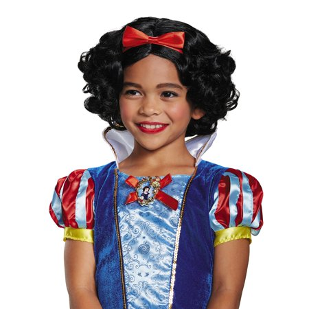 Snow White Wig Child (Snow White Deluxe Child Wig)