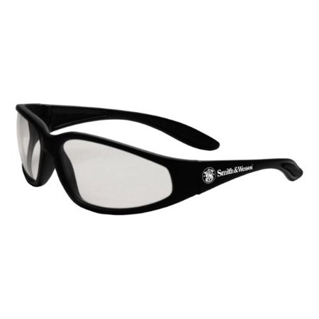 Smith & Wesson Clear Safety Glasses, Scratch-Resistant, Wraparound, By Smith (Smith Goggle Sale)