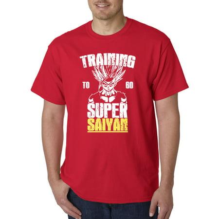 New Way 636 - Unisex T-Shirt Training To Go Super Saiyan Dragon Ball Z Dbz