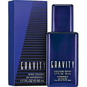 Gravity Cologne Spray for Men, 1.7 fl oz