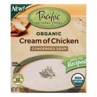 (4 Pack) Pacific Organic Cream of Chicken Condensed Soup, 12 oz