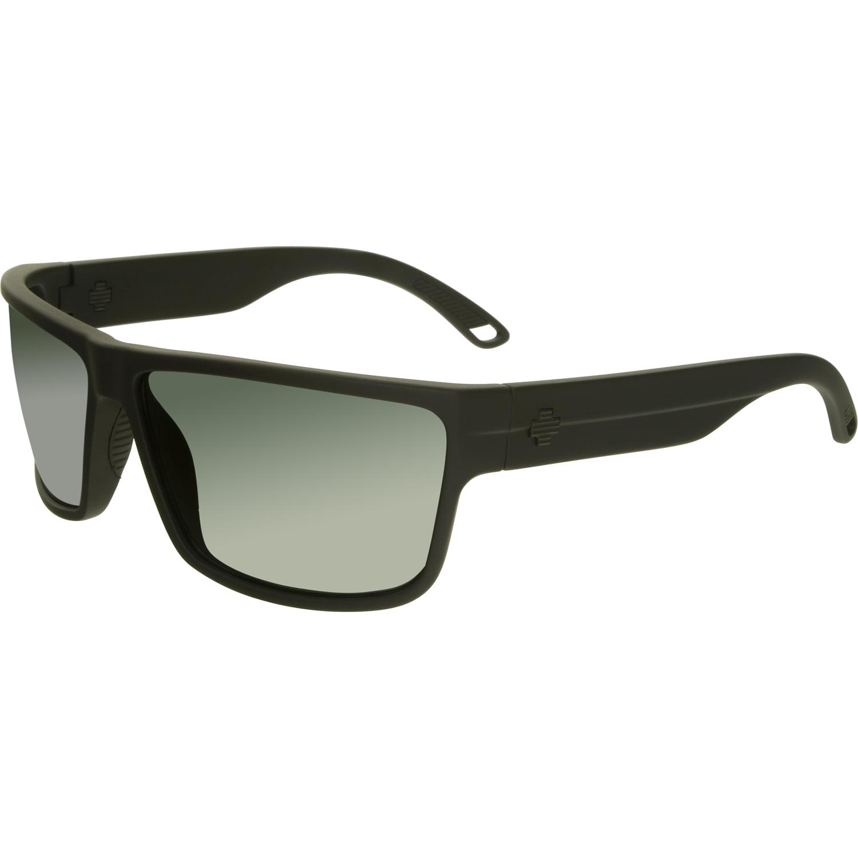 Spy Men's Rocky 673248374863 Black Rectangle Sunglasses