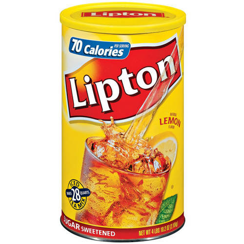 Lipton Lemon Iced Tea Mix, 28 qt