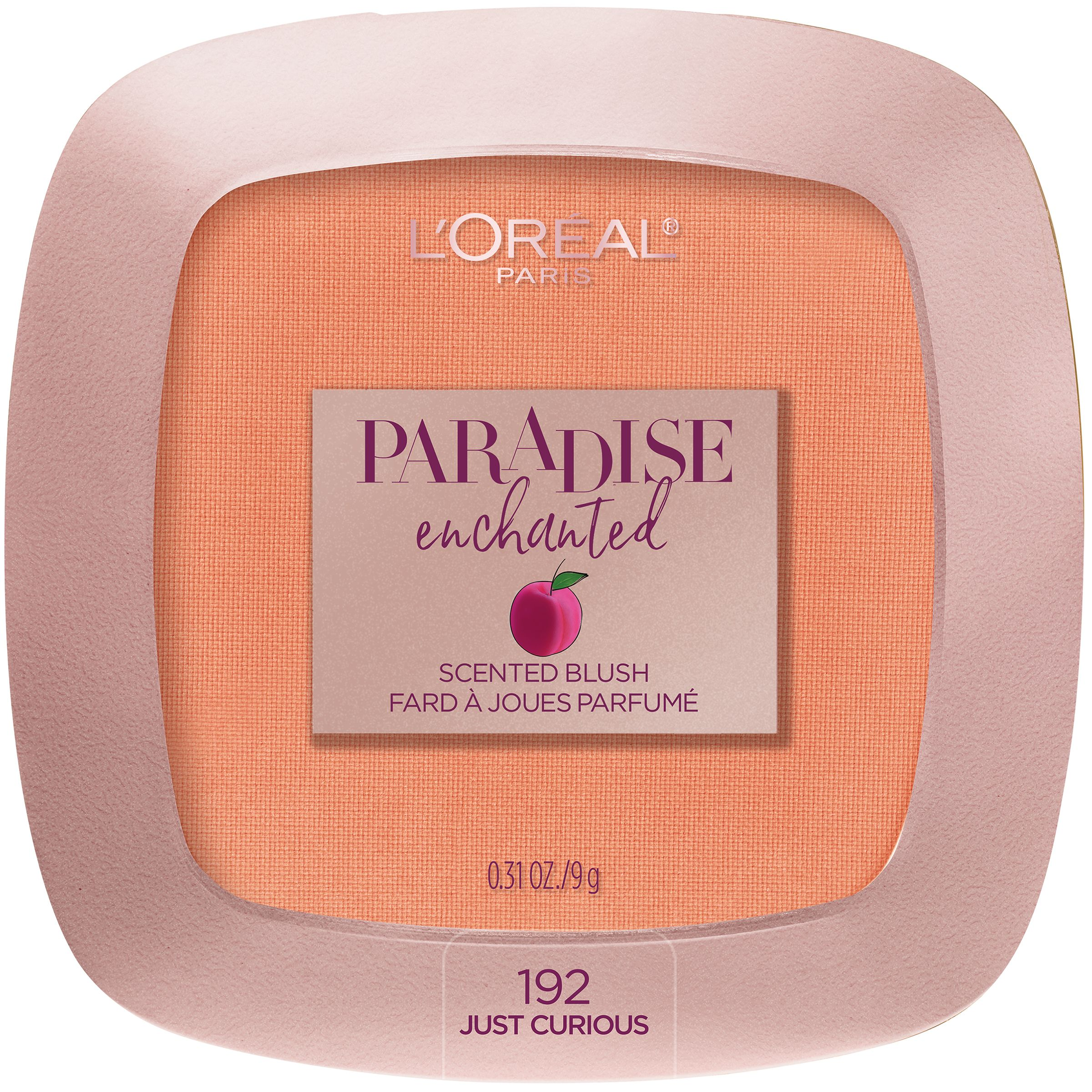 L'Oreal Paris Paradise Enchanted Fruit-Scented Blush Makeup, Just Curious