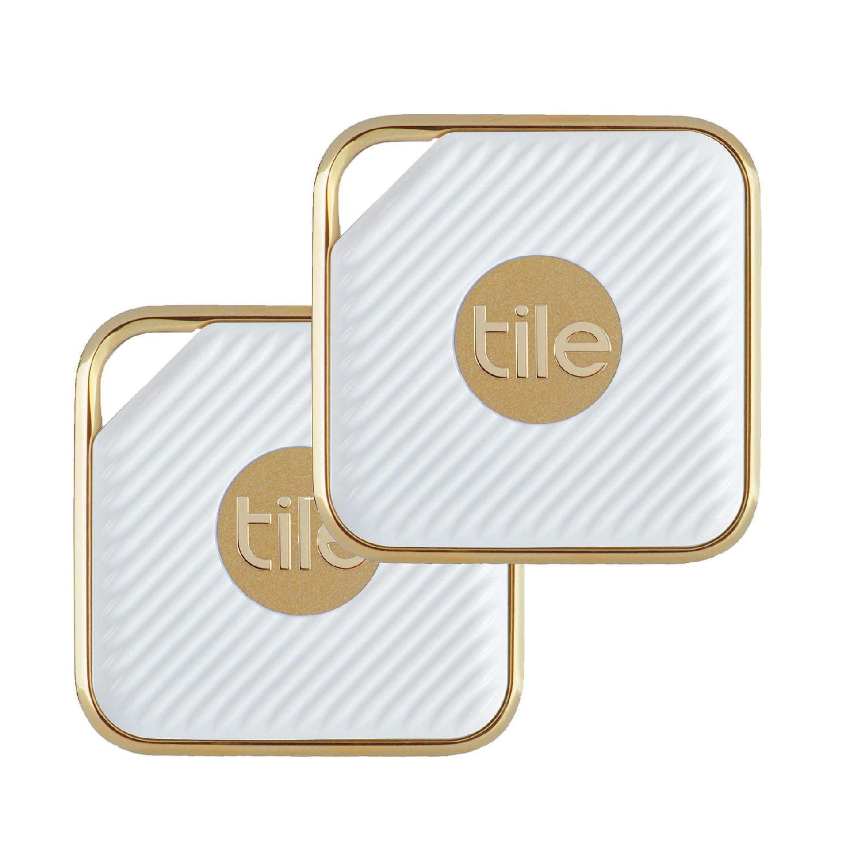 Tile Style Pro - Key Finder. Phone Finder. Anything Finder - 2 Pack, Gold