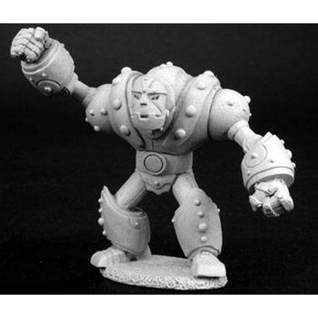 Beaver Miniature - Reaper Miniatures Iron Golem #02728 Dark Heaven Legends Unpainted Metal Figure