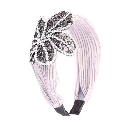 Great Gatsby / Flapper Inspired Handmade Fashion Headband / Hairband w Rhinestone Sequin - Great Gatsby Inspired Gifts