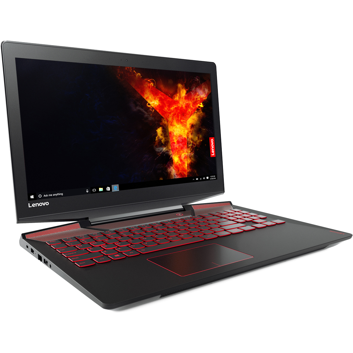 "Lenovo Legion Y720-15IKB 15.6"" Intel Core i7-7700HQ 16GB DDR4 1TB HDD - 256GB SSD - Windows 10 Home 3840 x 2160 IPS Black Notebook"