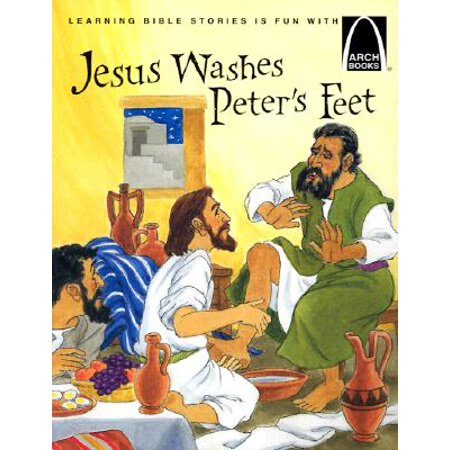 Jesus Washes Peter's Feet : The Story of Jesus Washing the Disciple's Feet](Jesus Washes Disciples Feet)