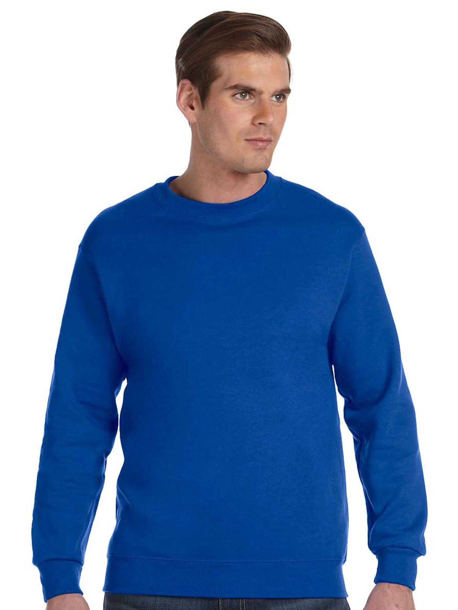 8d689763d Gildan - Gildan Mens Ultra Blend Fleece Crewneck Sweatshirt, Royal, 3XL,  Style, G120 - Walmart.com