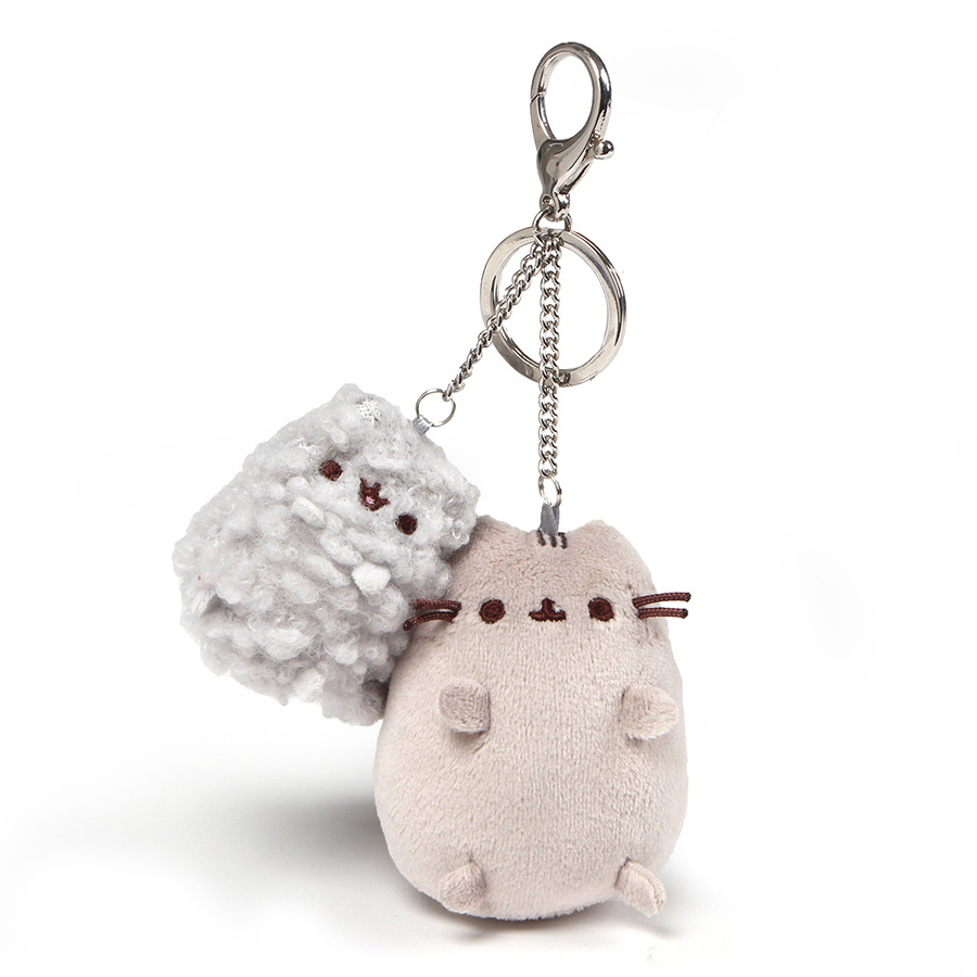 Personalized gift plush Keychain with cat PHOTO custom dog pet photo print stuffed keychain
