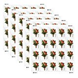 Celebration Boutonniere 5 Sheets of 20 USPS Forever First Class Postage Stamps Wedding Prom (Ups First Class Mail Tracking)
