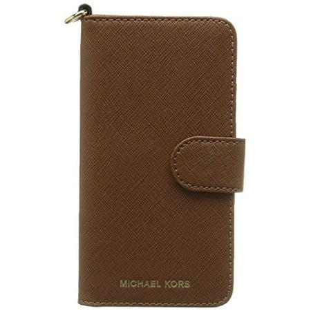 half off 32c60 9171f Michael Kors Electronic Leather Folio Phone Case for iPhone 7 Plus & iPhone  8 Plus, Luggage