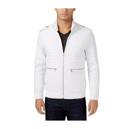 I-N-C Mens Ribbed & Quilted Jacket