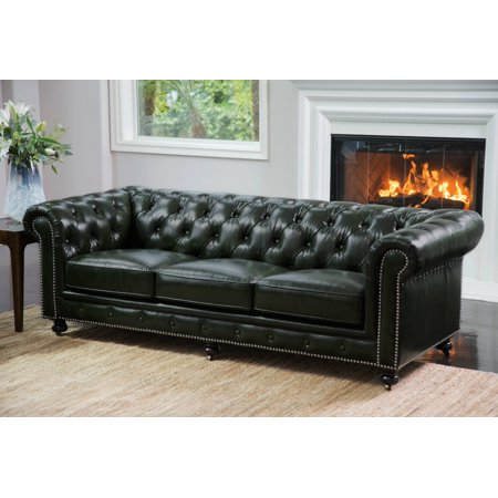 Devon & Claire Darcy Top Grain Waxed Leather Sofa,
