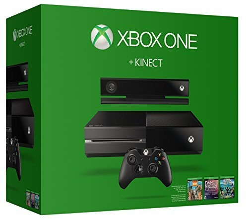 Microsoft Xbox One 500GB Console with Kinect (No Chat Hea...