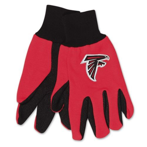 Atlanta Falcons Two Tone Gloves Adult Size by McArthur