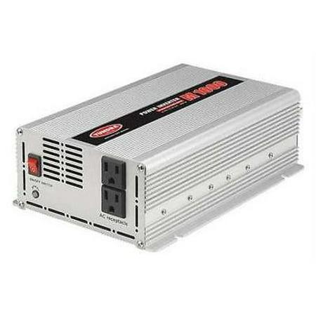 Inverter, 120VAC, 12VDC, 1000W, 2 Outlets
