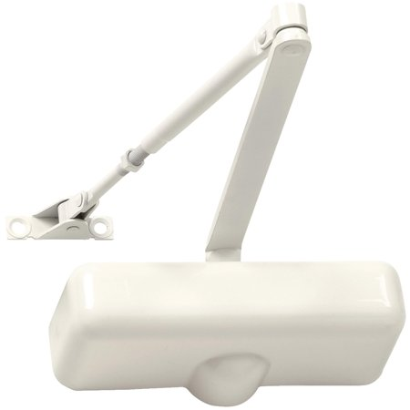 Tell Residential 2000 Series Ivory Hold Open Door Closer DC100078