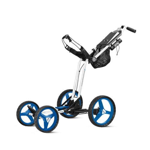 New Sun Mountain Micro-Cart GT Push Cart - White / Royal