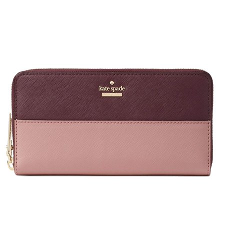 Kate Spade New York Cameron Street Lacey Wallet in Dusty Peony