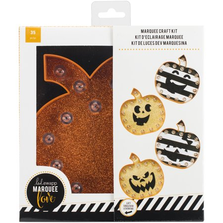 Heidi Swapp Marquee Love Halloween Kit-Pumpkin