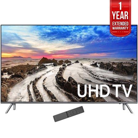 Samsung 64 5   4K Ultra Hd Smart Led Tv 2017 Model  Un65mu8000fxza  With 1 Year Extended Warranty