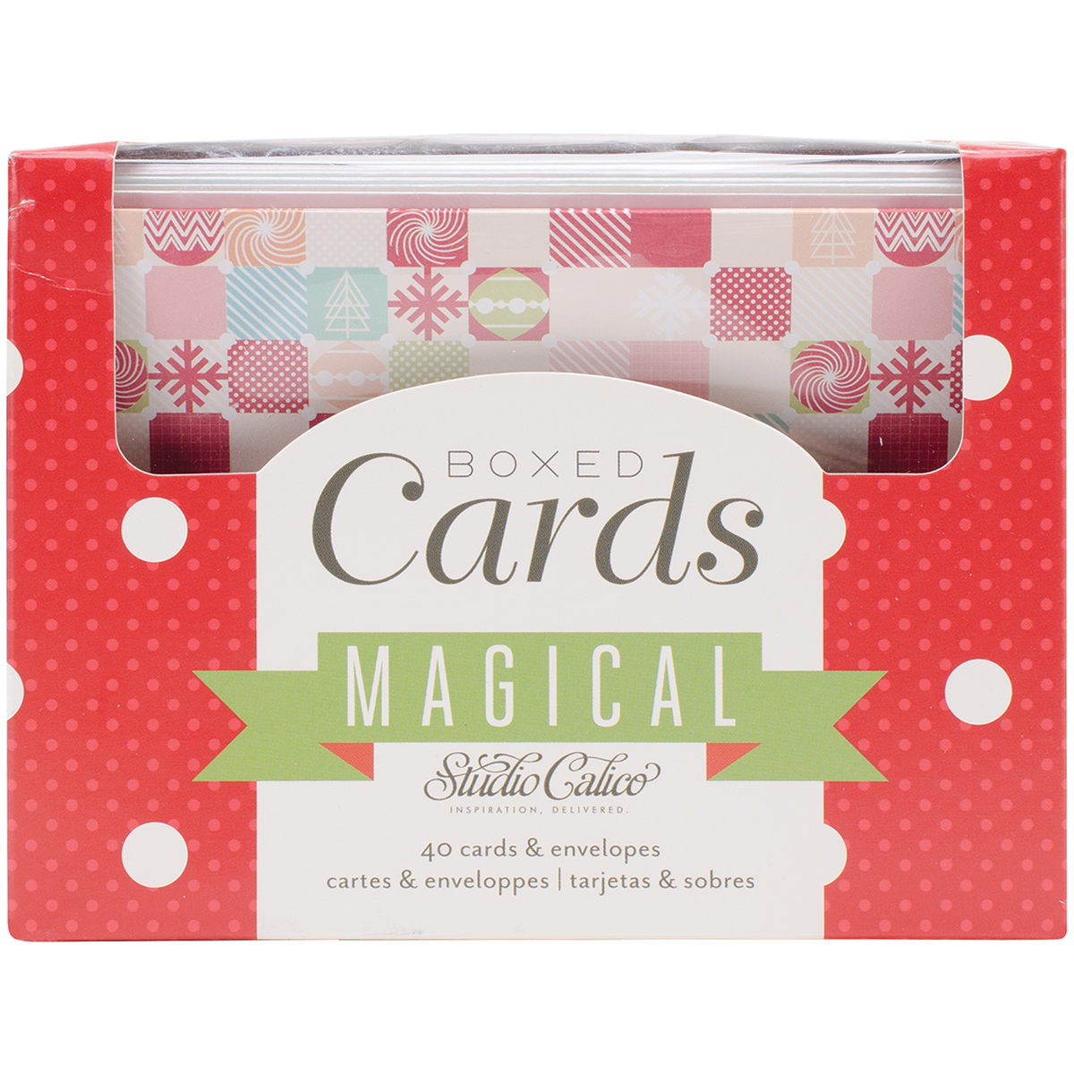 Magical Cards with Envelopes, 40/Pkg, 10 Designs
