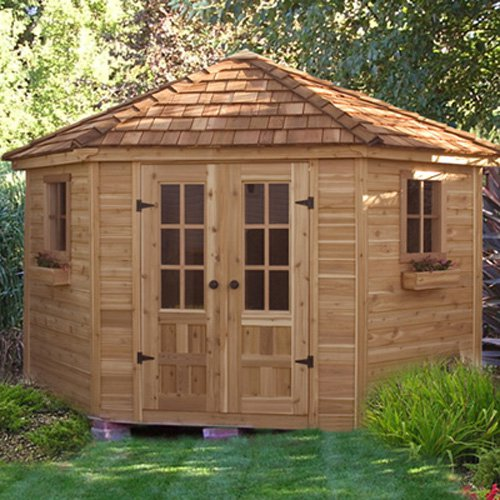 Outdoor Living Today PEN99 Penthouse 9 x 9 ft. Garden Shed by Outdoor Living Today