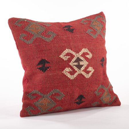 Saro Lifestyle Kilim Design Down Filled Throw Pillow