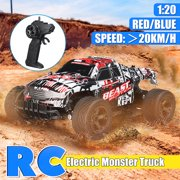 2.4GHz 1:20 Remote Control Toys Car High Speed RC Electric OffRoad Truck For Children Kids Boys Christmas Gift